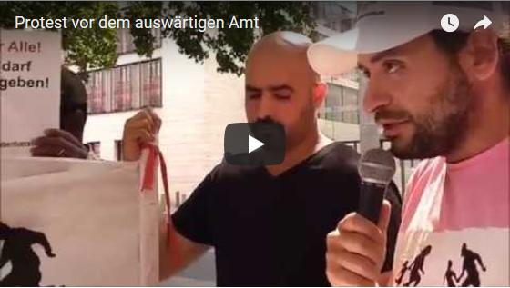 Video von der Kundgebung am 01.08. vor dem Auswärtigen Amt