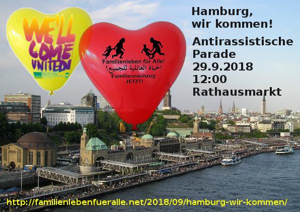 Hamburg, wir kommen!