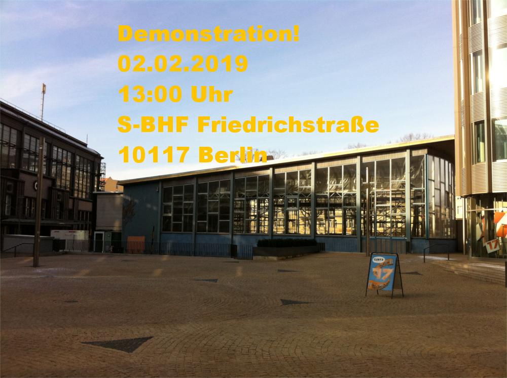 Demo für Familiennachzug in Berlin