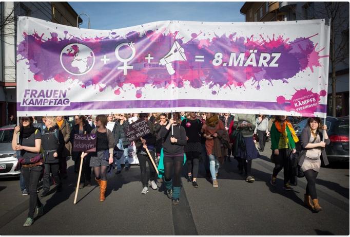 Frauenrechte sind Menschenrechte!