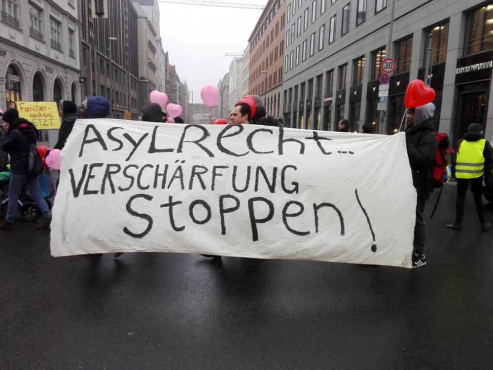 Asylrecht? Entwicklungen in der EU und in Deutschland