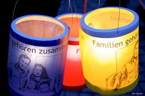 Demonstration für Familienzusammenführung in Schleswig-Holstein