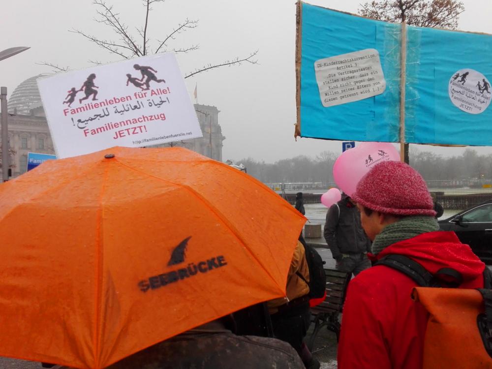 02.02.2019 Berlin: Demo für Familiennachzug und Grundrechte für Alle