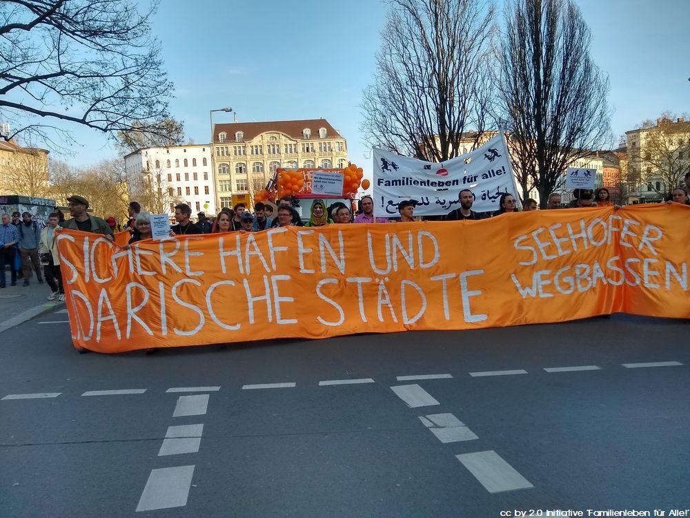 """Fotos von der Demo """"SeehoferWegBassen"""" am 30.03.2019"""