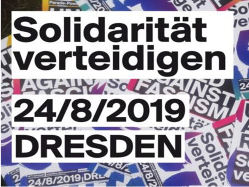 24.08.2019: #Unteilbar Solidarität verteidigen!