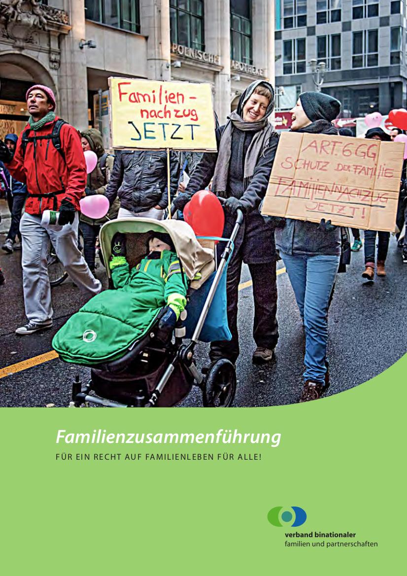 Broschüre zur Familienzusammenführung