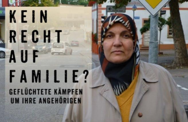 """27.09.2019, Frankfurt: Film und Diskussion """"Kein Recht auf Familie?"""""""