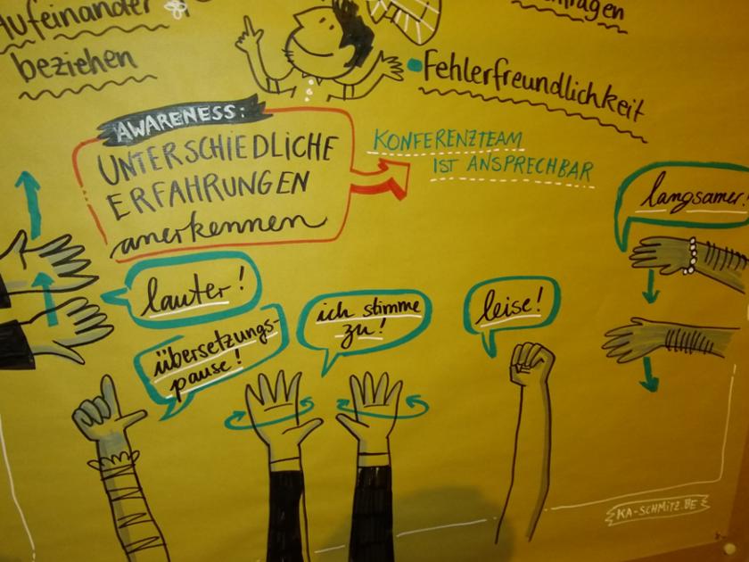 Eindrücke von der Strategiekonferenz sozialer Bewegungen