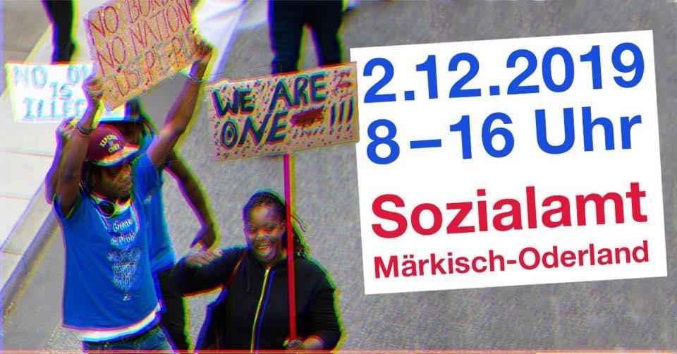 02.12.2019: Kundgebung in Märkisch-Oderland!