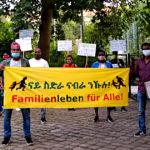 13.07.2020 Berlin: Demo für Familiennachzug