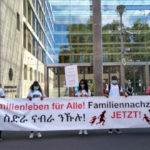 26.09.2020 Berlin: Demo für Familiennachzug