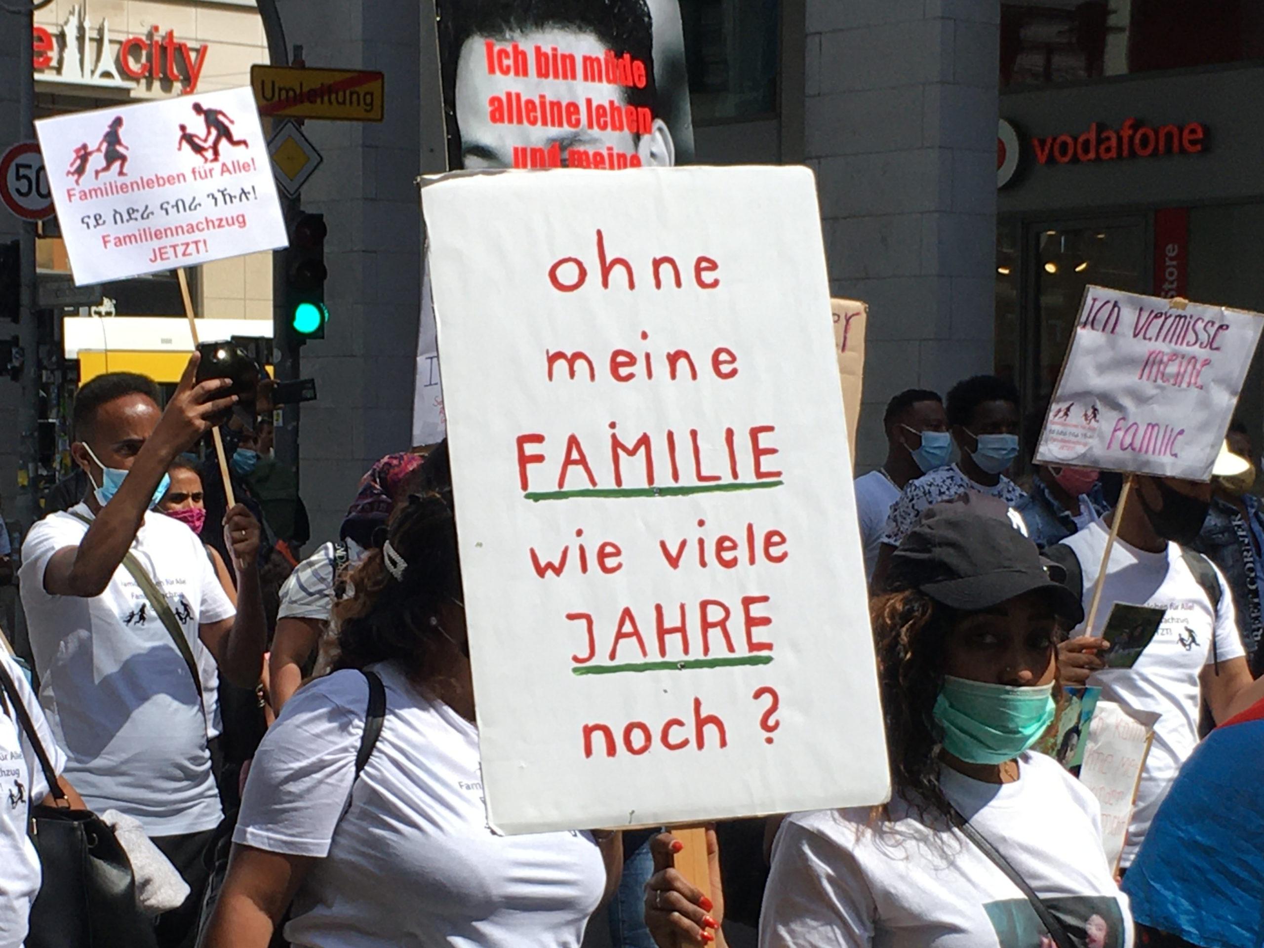 30.11-01.12.2020: Kundgebung 'Familiennachzug jetzt!'