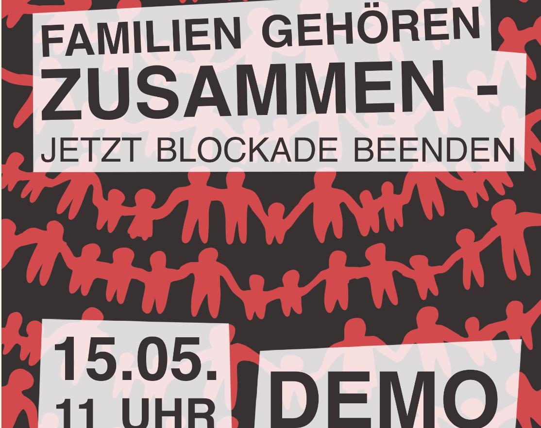 11.05.2021: Info-Veranstaltung zur Blockade des Familiennachzugs